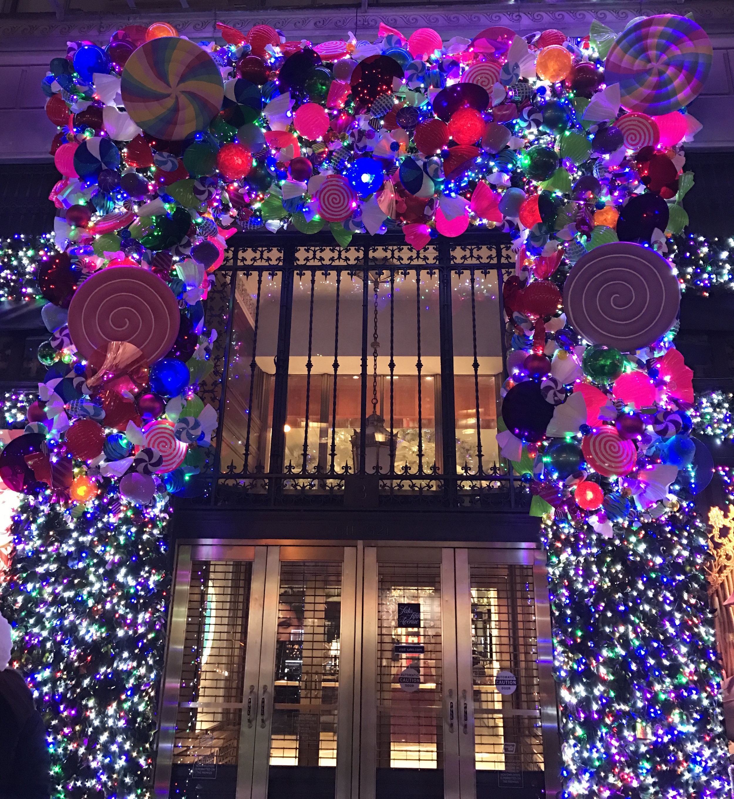 I was in NYC for work this week and was able to catch the shop light displays. Life goals: replicating this on my house some year...