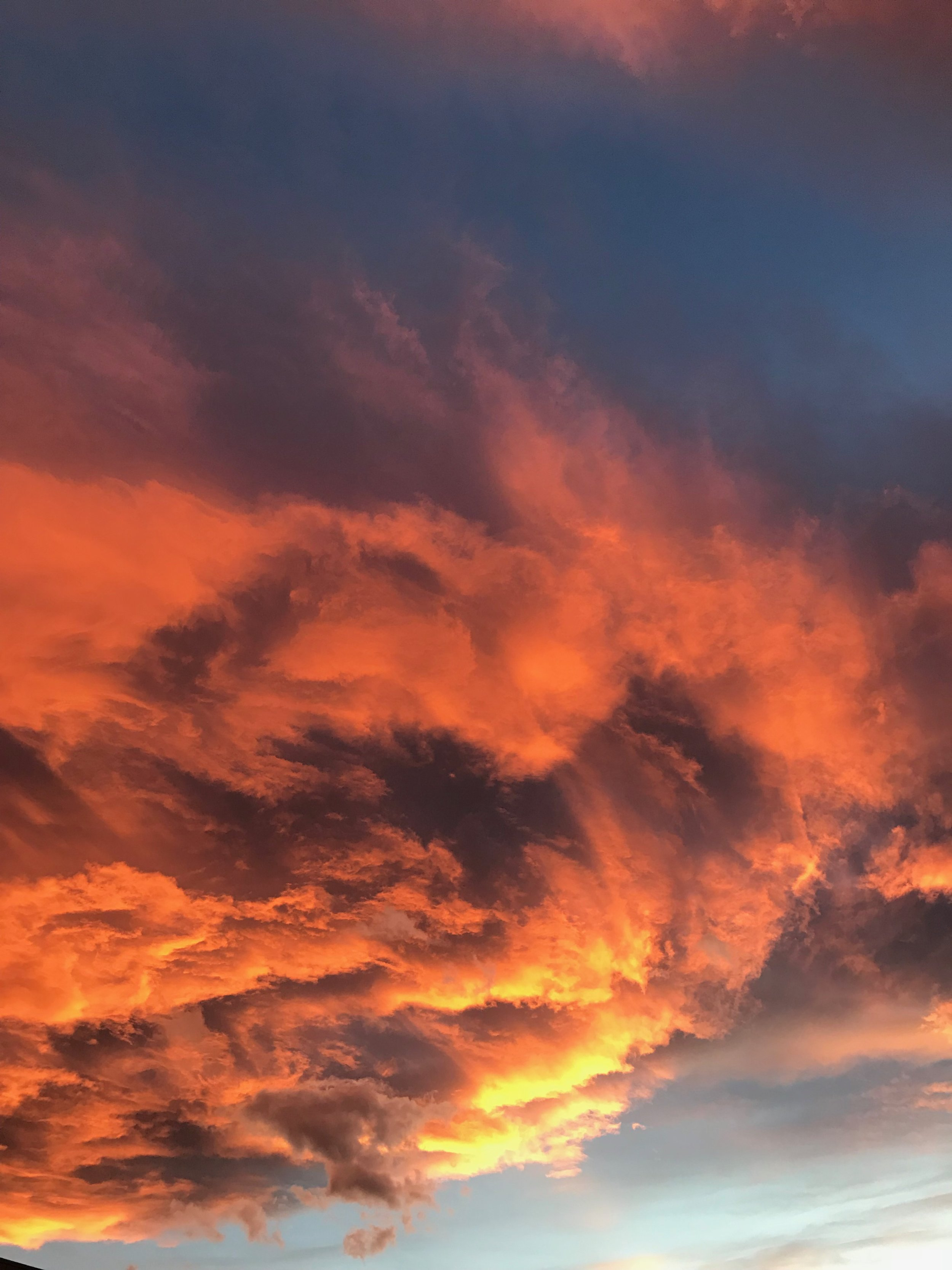 Unfiltered sky over Denver a few nights ago. Fall sunsets are the prettiest.