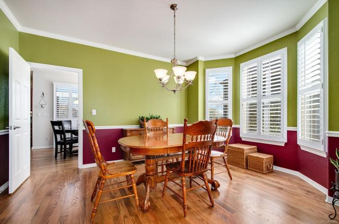 Ahhh the dining room. It's a bold color combo working in here. I think some board and batten around the walls would look awesome. I also want to attempt wallpaper but Phil isn't sold on it. We'll see!