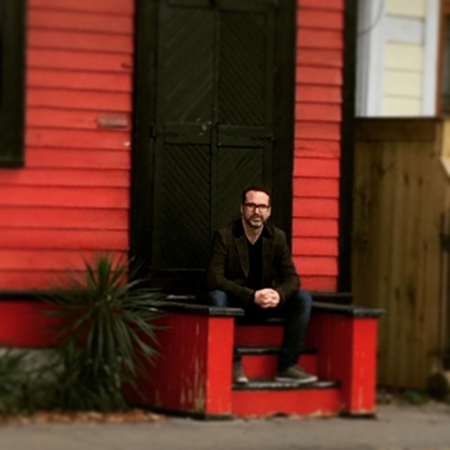Outside Kid Ory's house in New Orleans. Thanks to the amazing Jon Cleary for showing me around the city!