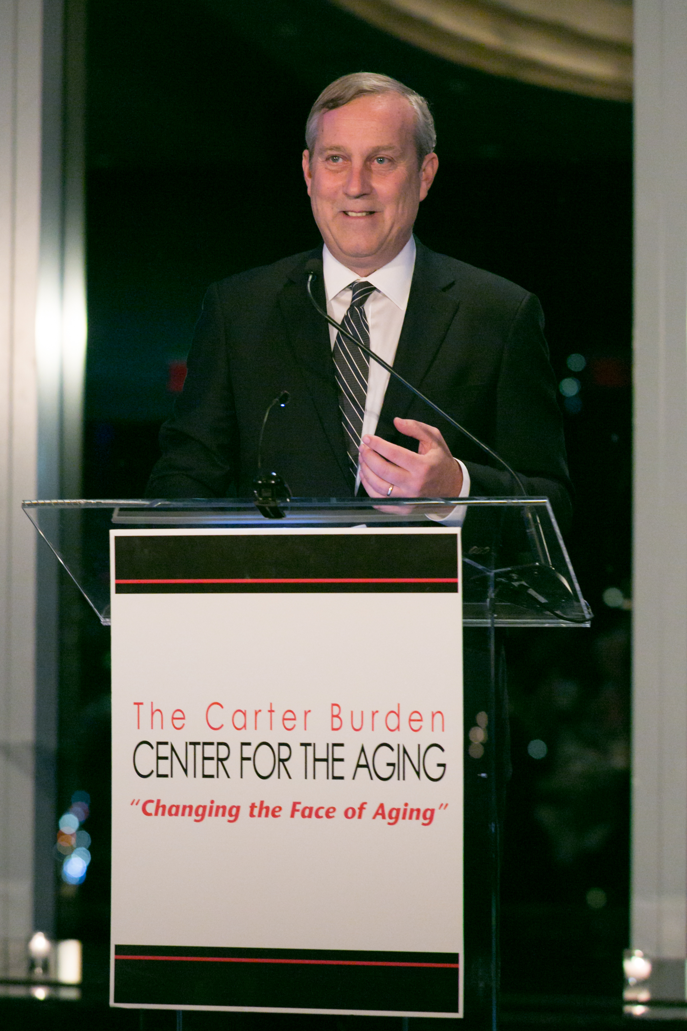 Peter Sachse   , Chief Growth Officer, Macy's, 2016 Business Leadership Honoree speaking at the Carter Burden Network's 45th Anniversary Gala: Celebrating Volunteerism