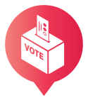 Don't forget to register to vote by October 22, 2018!