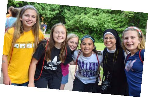 """I loved this camp! It helped me realize how much more you could love god."" - Jackie (6th grade)"