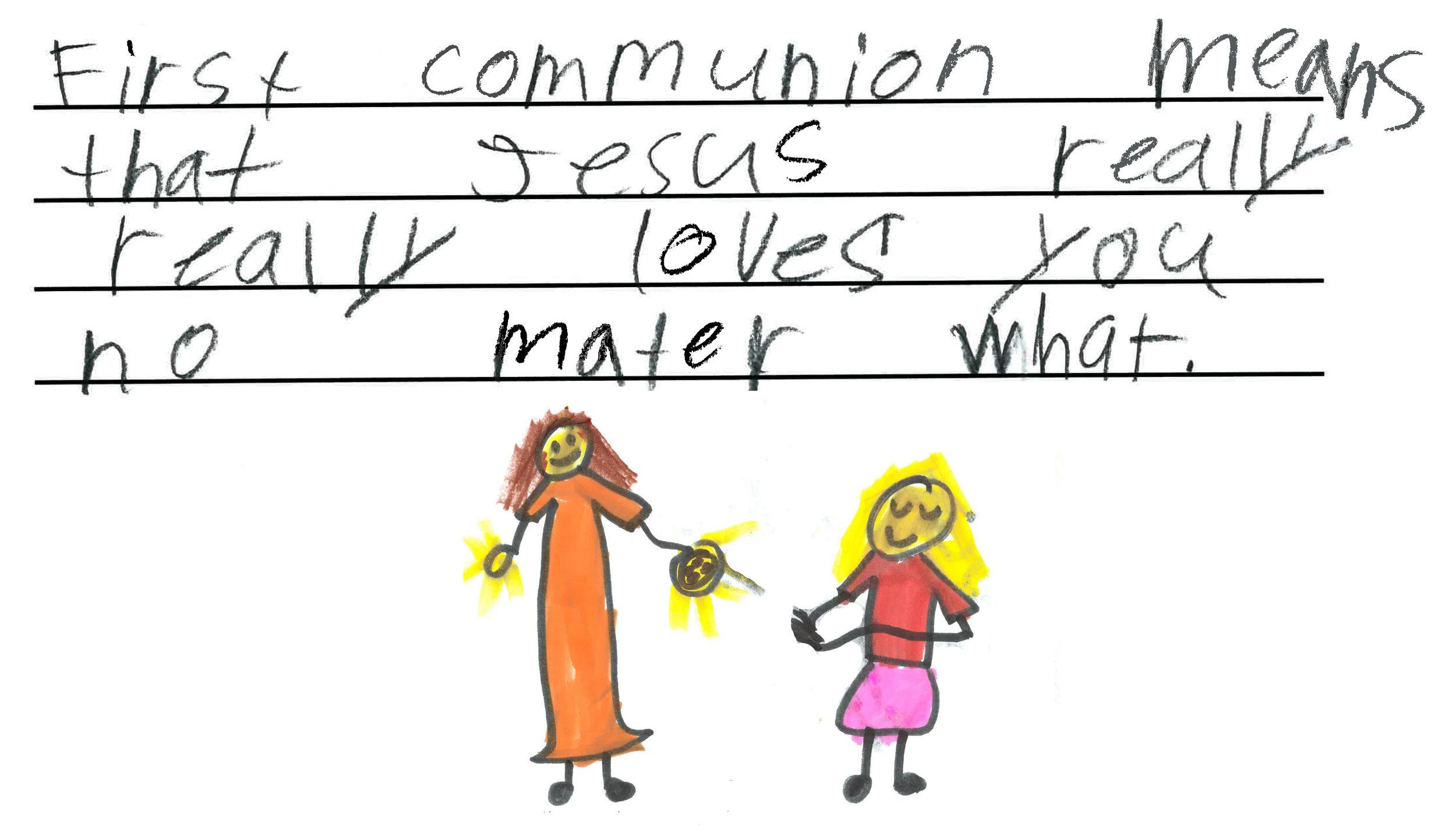 Mae, Parish First Communion Student