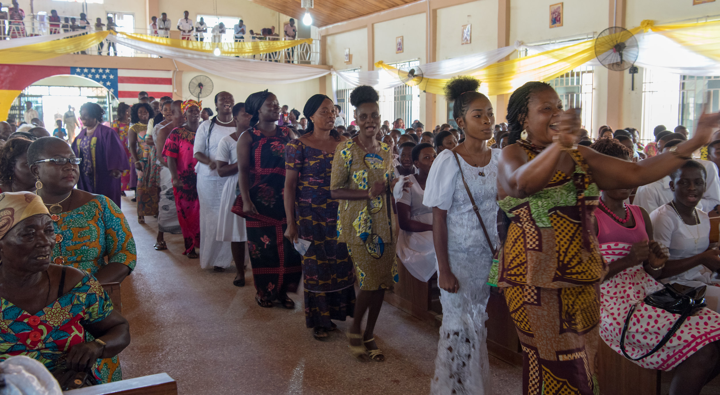 Easter in Ghana -