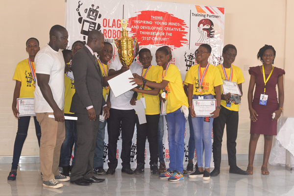 Image: Winners from Frobel Educational Centre