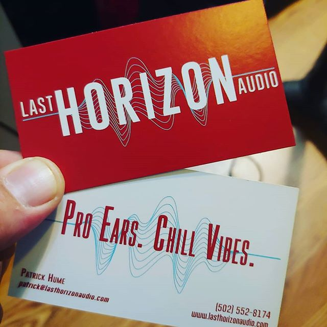 Feeling like a boss with these brand new business cards!