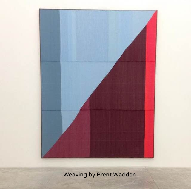 Weaving by Brent Wadden