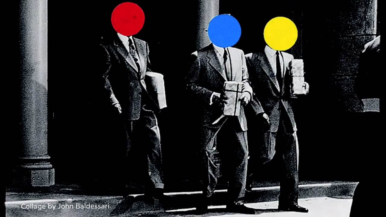 Collage by John Baldessari