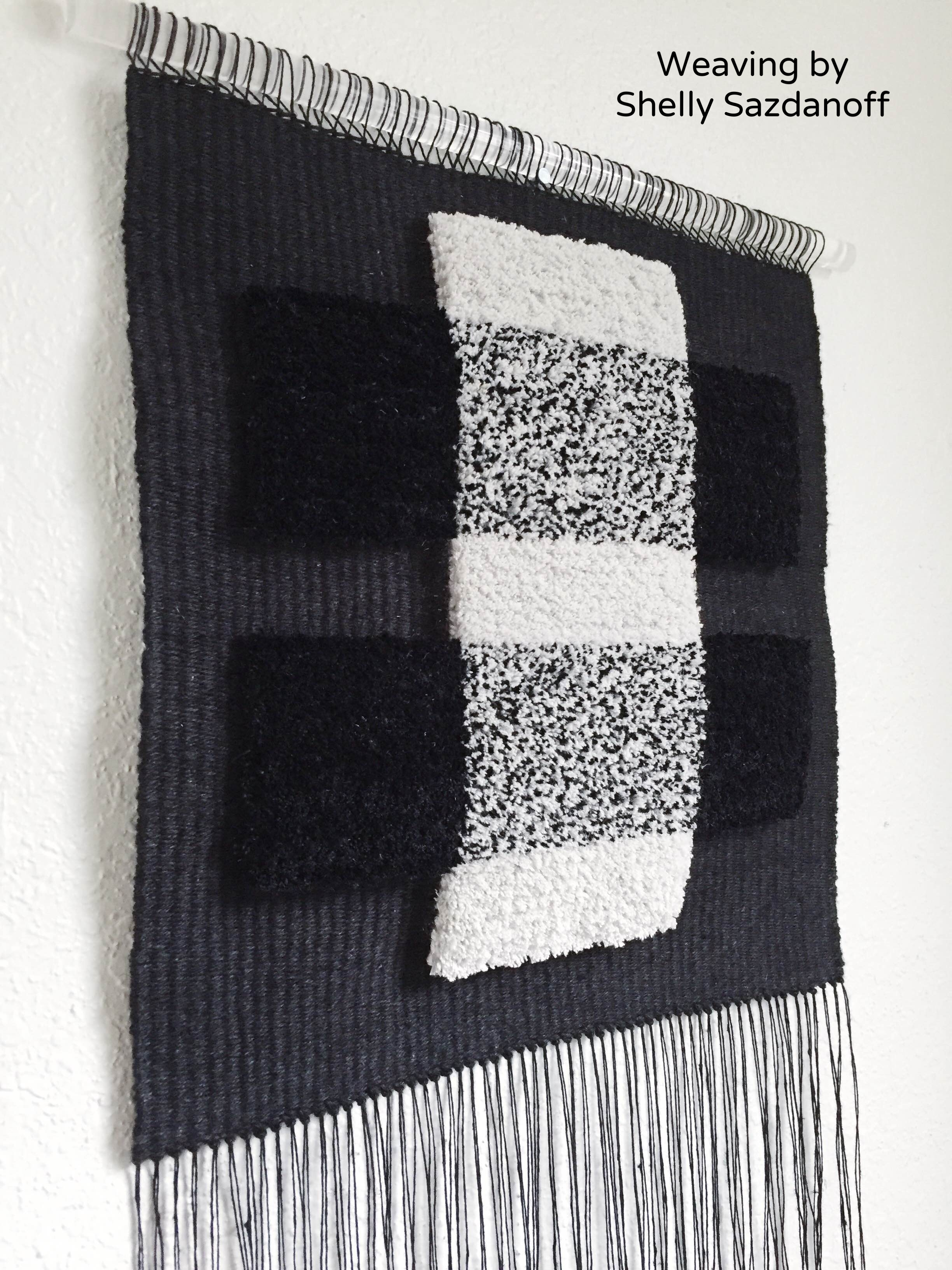 Weaving by Shelly Sazdanoff