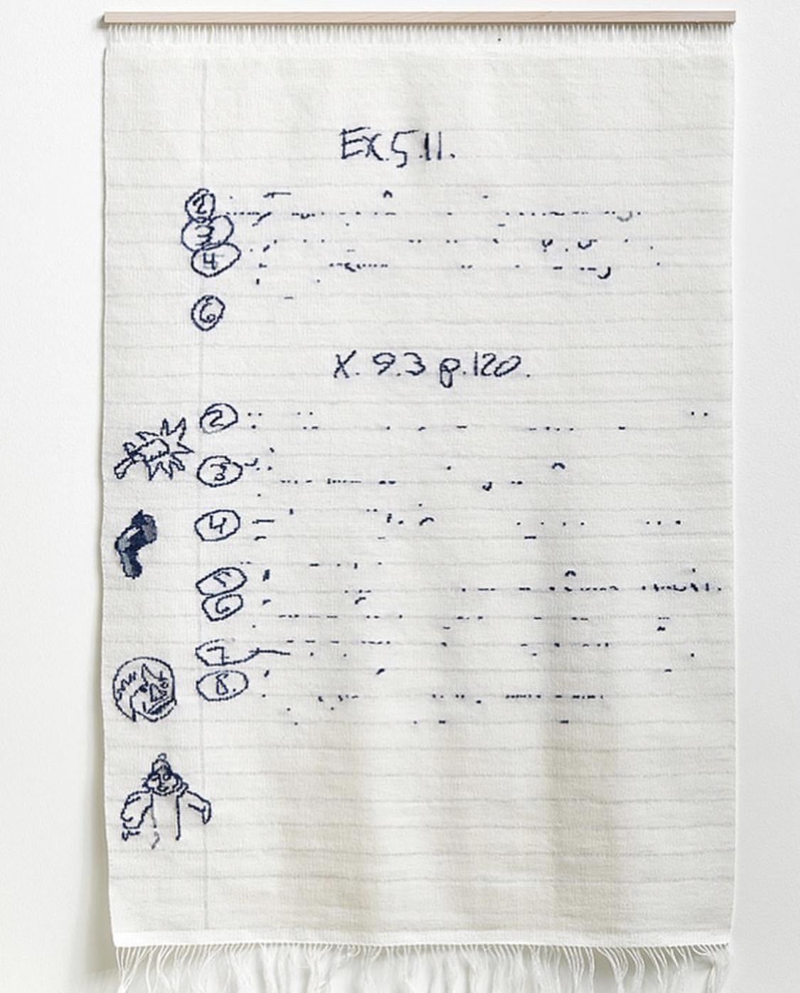 Woven Doodle Page by Arna Ottarsdottir