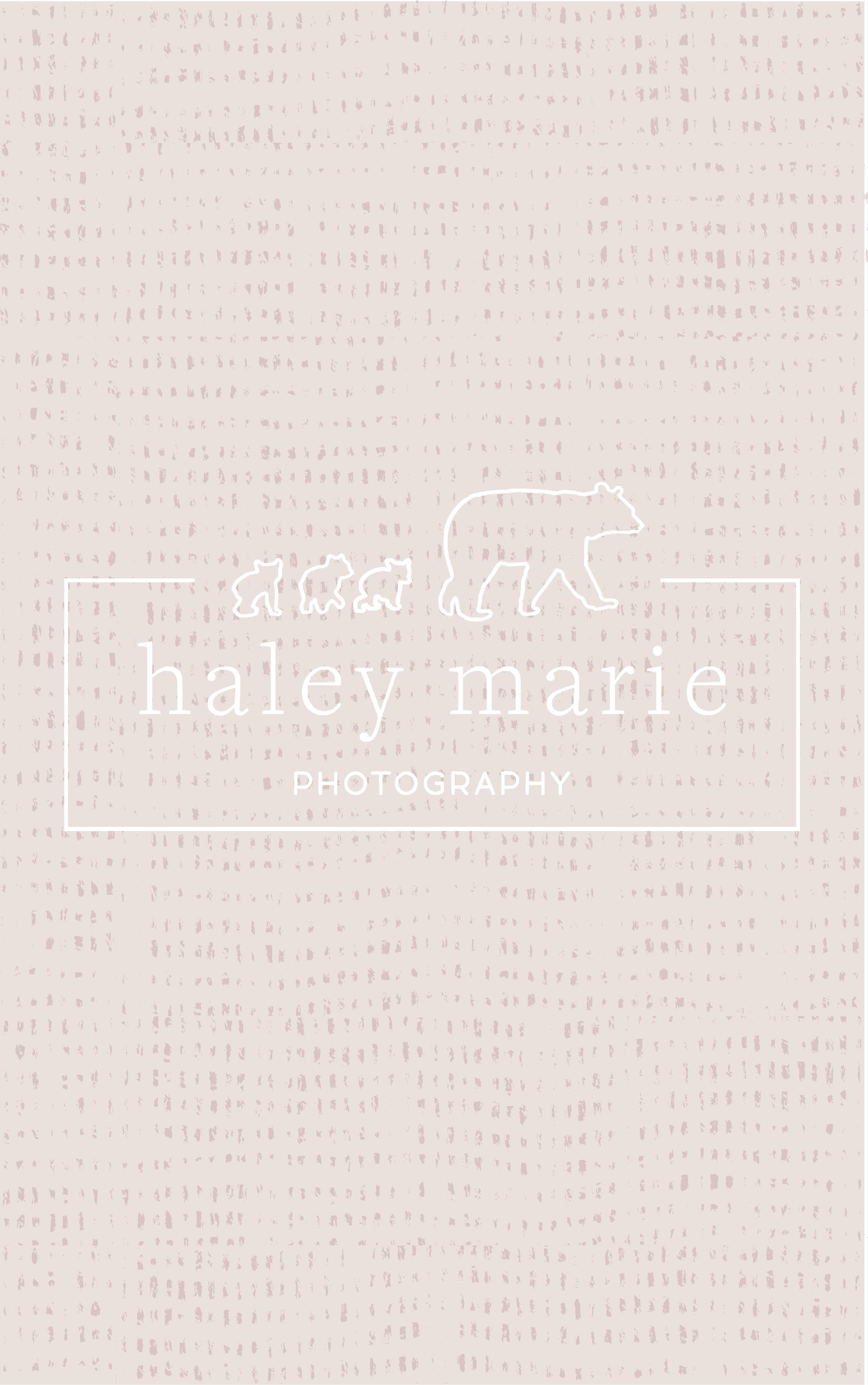 Haley Marie Photography Branding