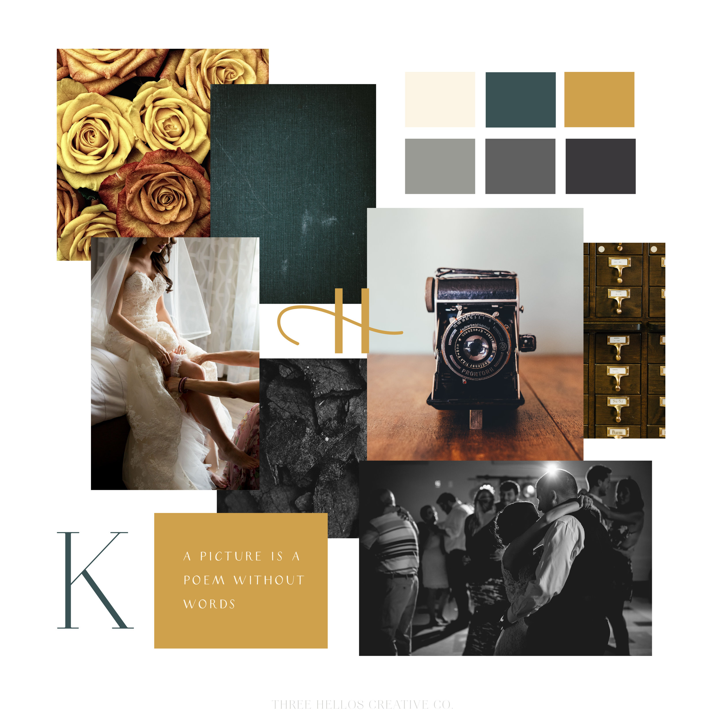 KINDRED CUT INSPIRATION BOARD