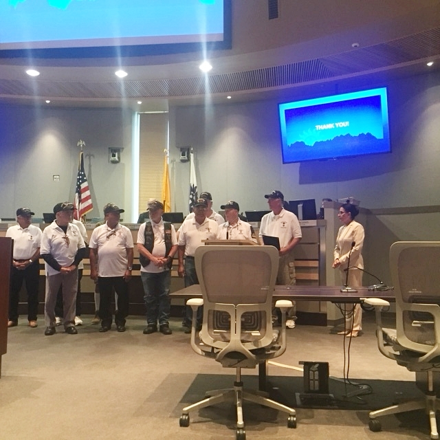2018 City of Las Cruces proclamation for August 7th National Purple Heart Day