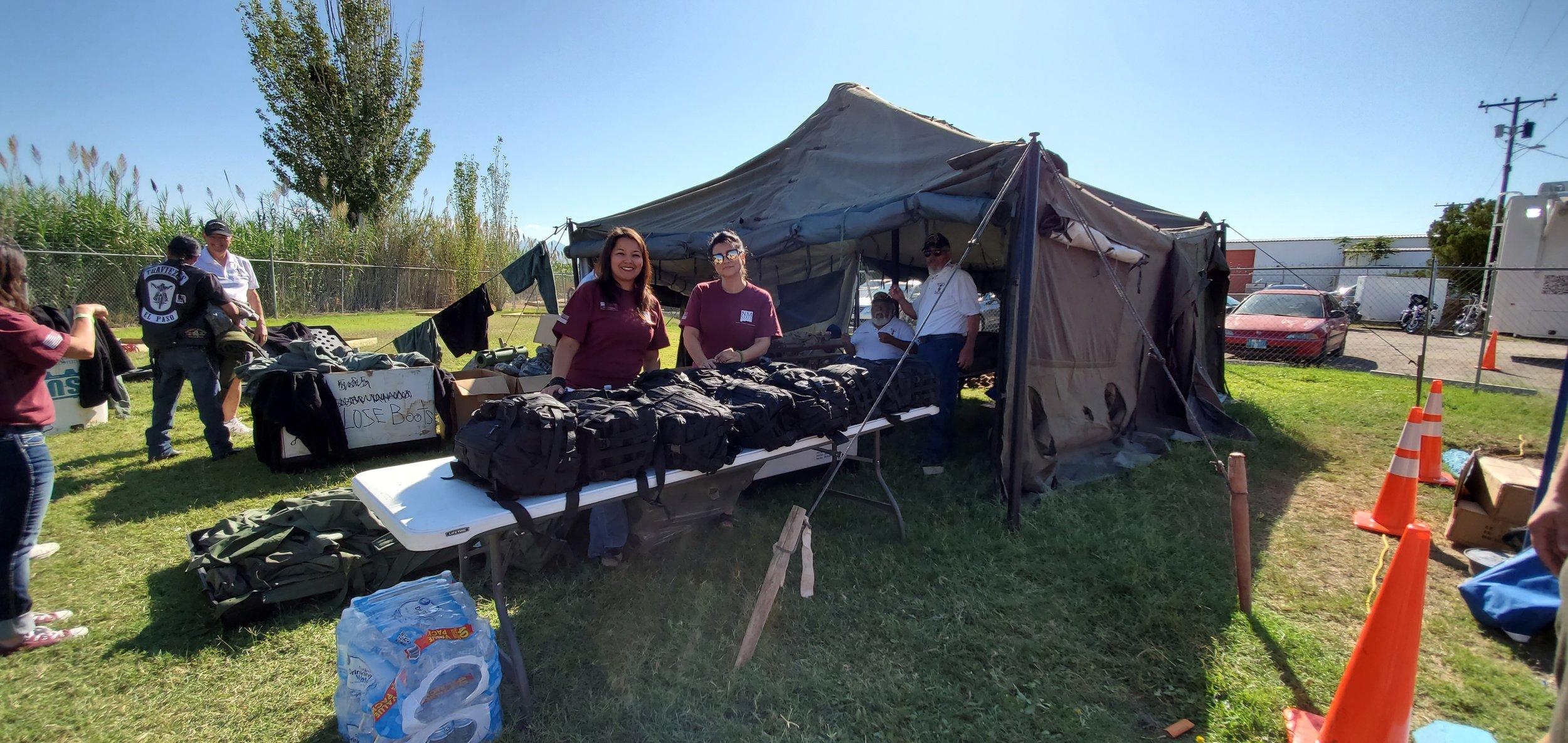 Purple Heart volunteers at the 2019 Standown