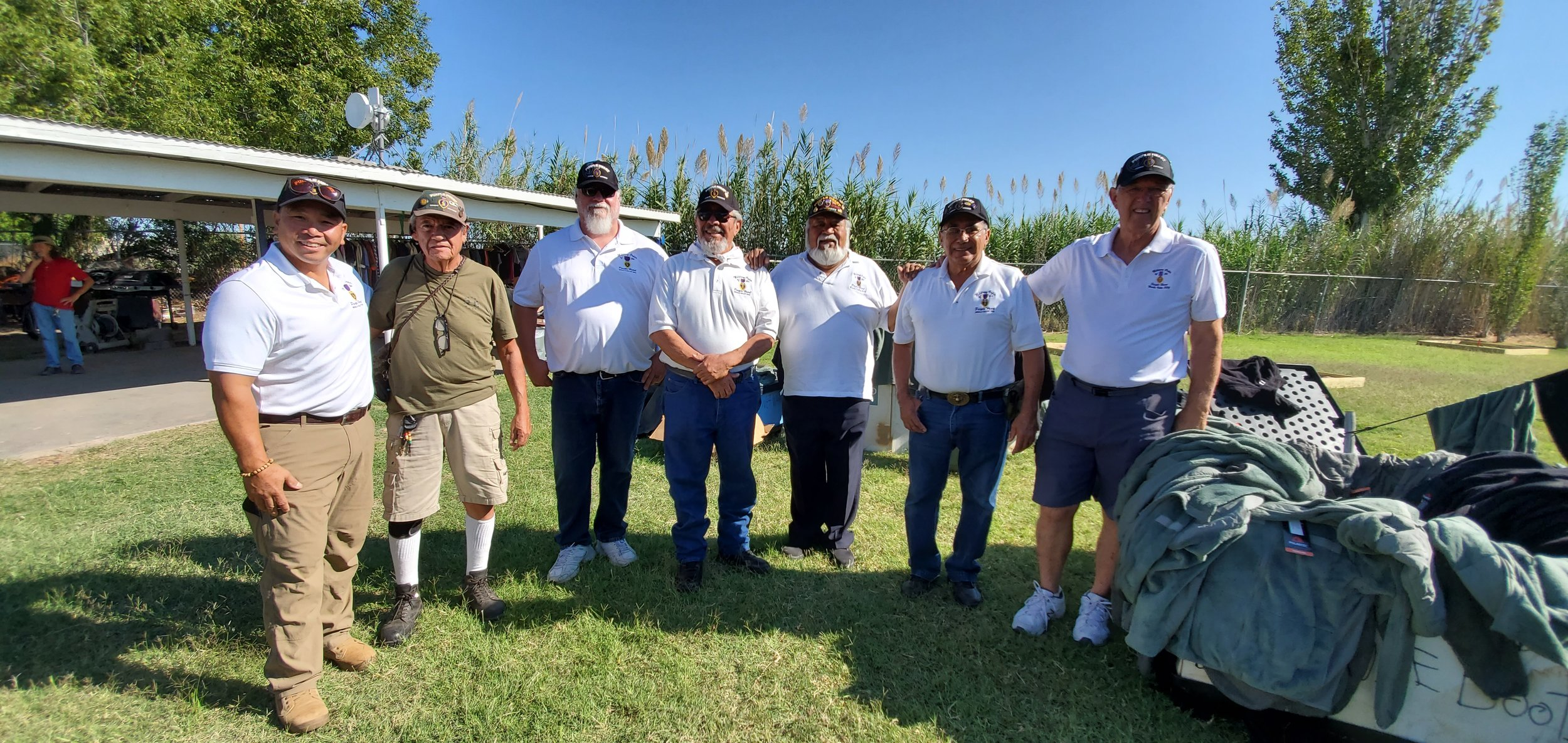 Purple Heart volunteers at the 2019 Standown