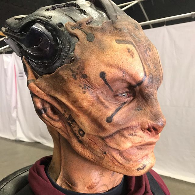 Under the direction of Make up Department Head Brian Sipe, I was given the opportunity to apply many of the Ravager makeup's, several times, for the final battle scenes in Avengers Endgame. The makeups were usually assigned to two people. Applied with make up artist Adam Walls. All prosthetics created by Legacy Studios.