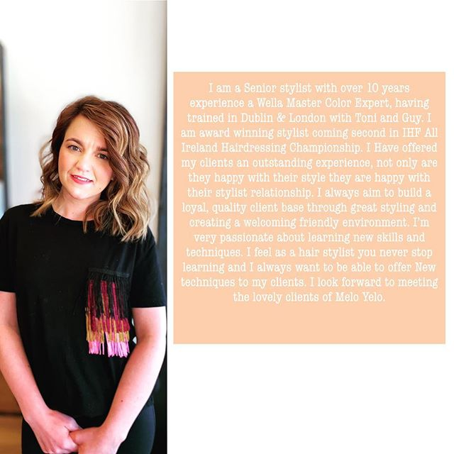 Meet our new stylist Molly  We are very excited to welcome Molly to our team. Molly has over 10yrs experience in the hair dressing industry.  Molly is offering 10% off all color on Wednesday's and Thursdays from 21st of April till the 5th of May. Facebook and Instagram must be quoted when making an appointment. @hairbymollylloyd