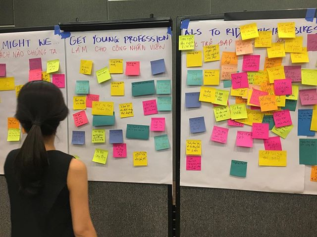 How might we... #naps100 #ideation #financialinclusion #optixproject #cep #customerjourneymapping