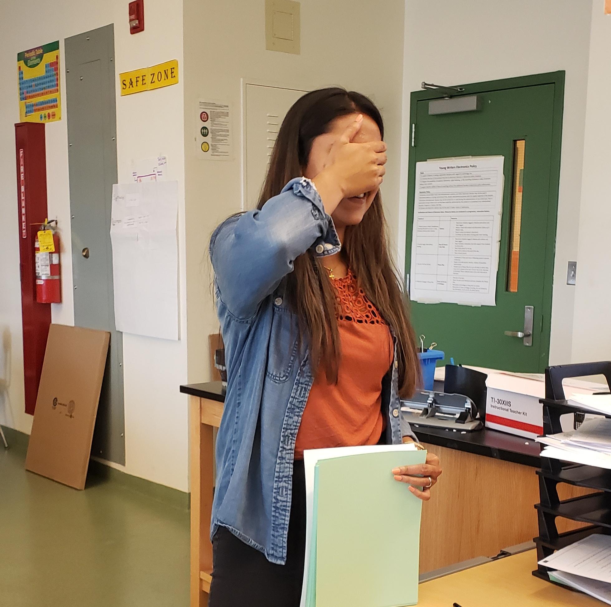 SHAKANA JAYSON - CHEMISTRY TEACHER