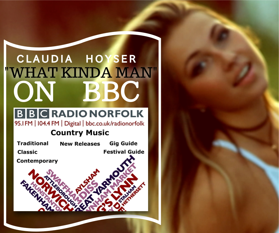 """""""What Kinda Man"""" has made its way across the pond!! Keep it Country TV featured """"Steam"""" on their """"Ladies of Country"""" program last week and now  BBC Radio 2 Country  will be airing """"What Kinda Man"""" this weekend!! ..Travel bug is getting bigger.."""