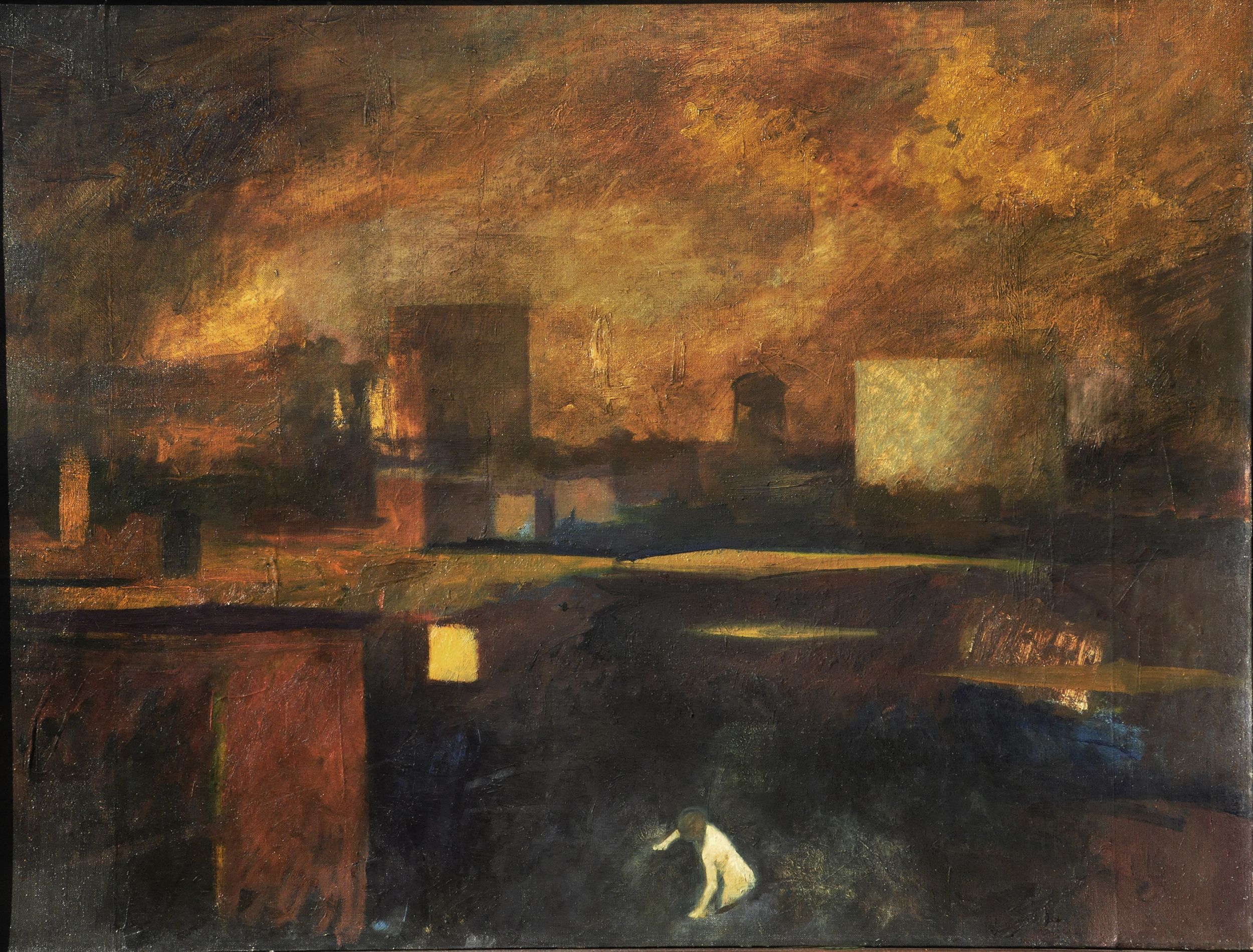 View of Brooklyn, Fritz Drury
