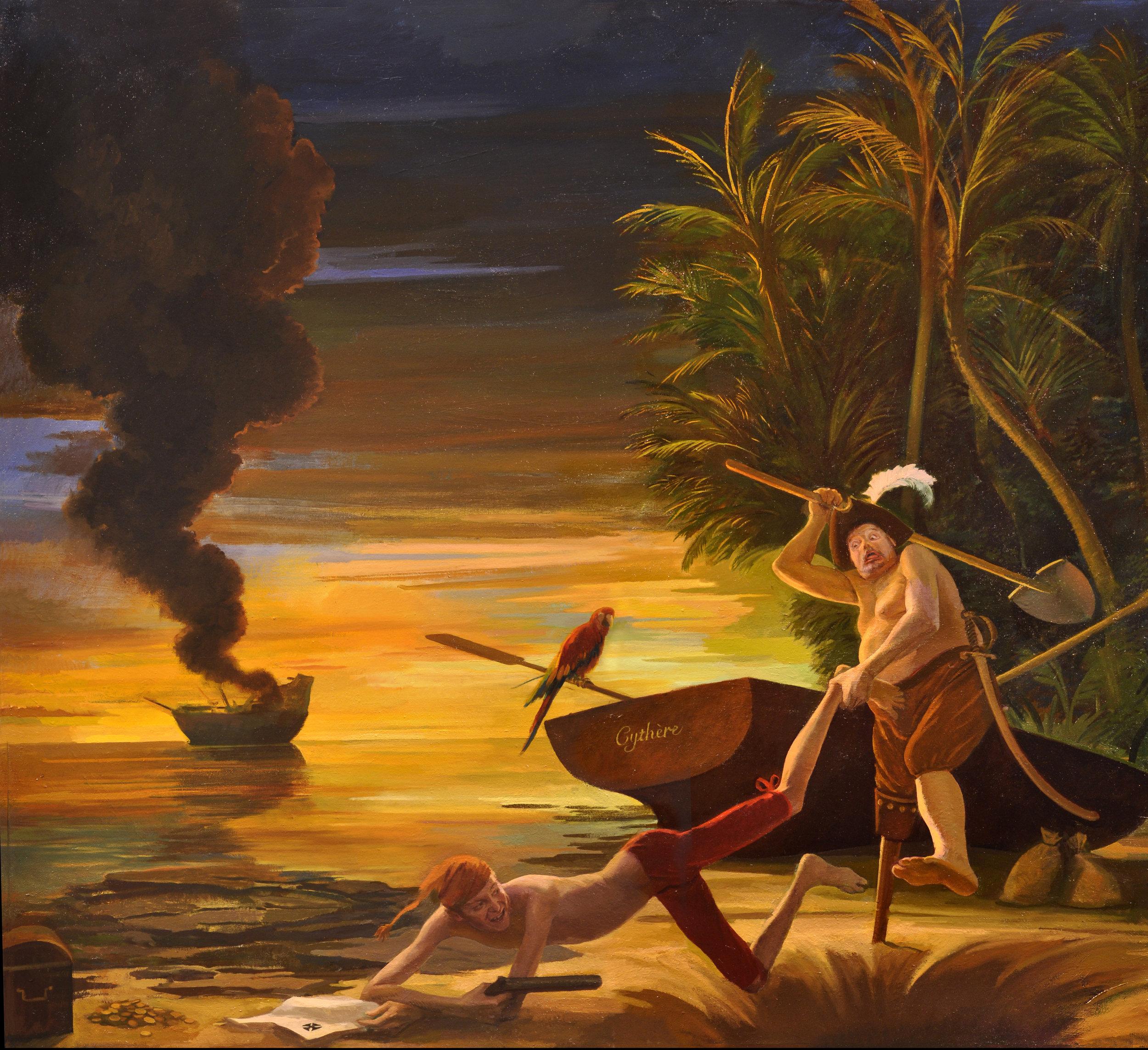 Pirate Scene, Fritz Drury