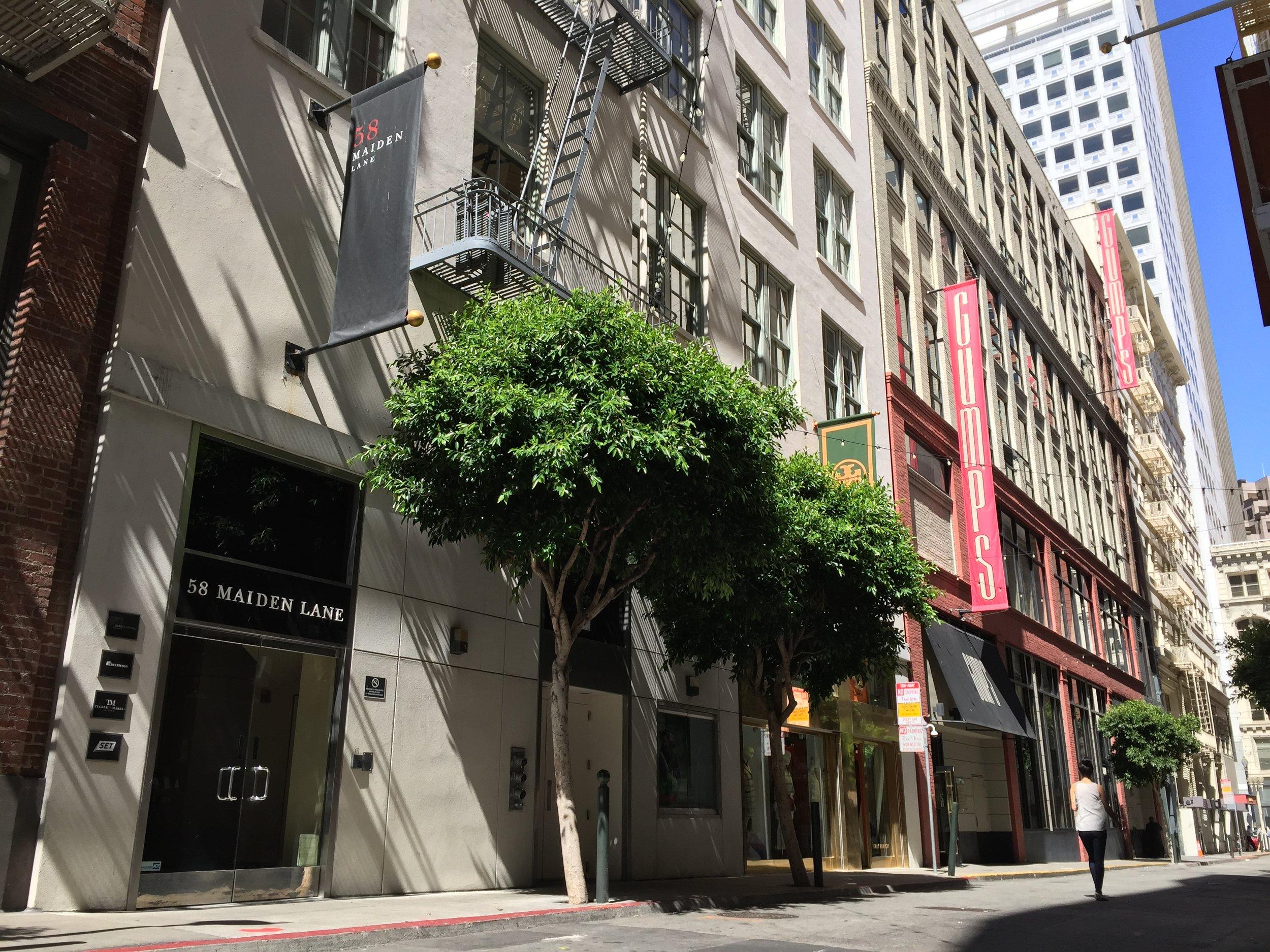 San Francisco  59 Maiden Lane  San Francisco, CA