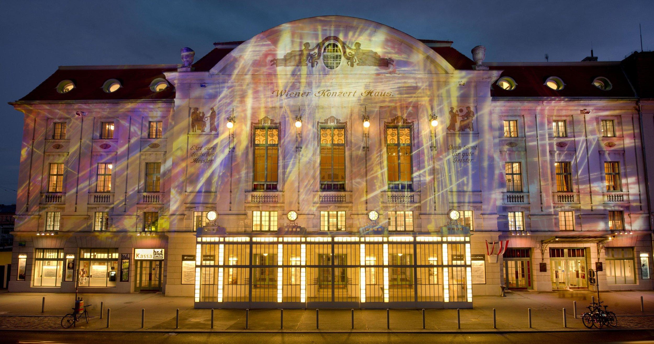 Beautiful event with Janoska Ensemble on Silvester 2017 at Wiener Konzerthaus!