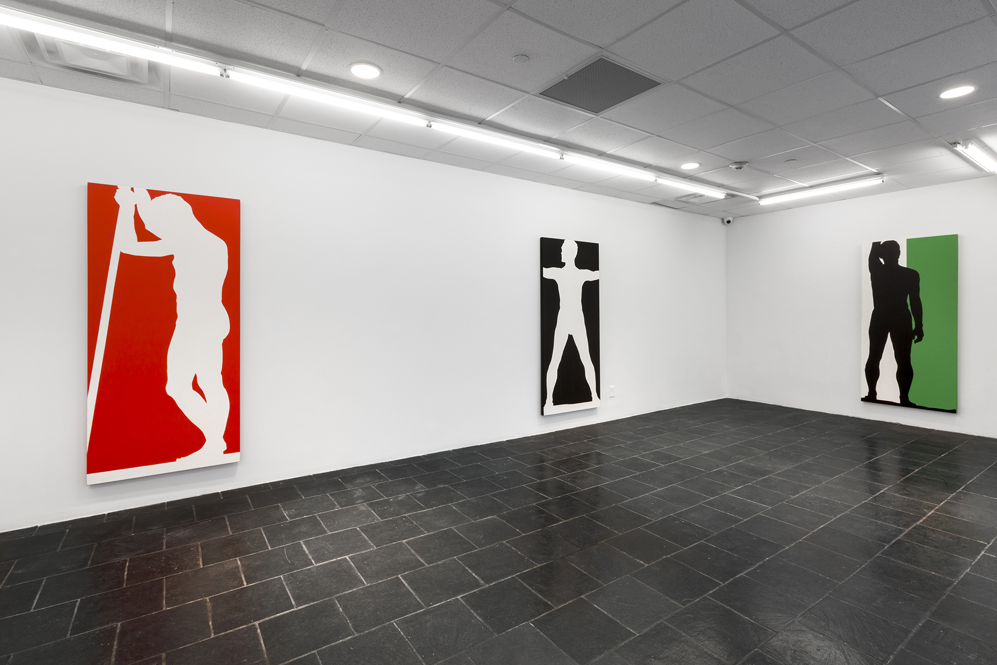 Installation View of Kendall Shaw's John Giorno Dancing (1963) © Kendall Shaw, Photo Credit: Daniel Pérez