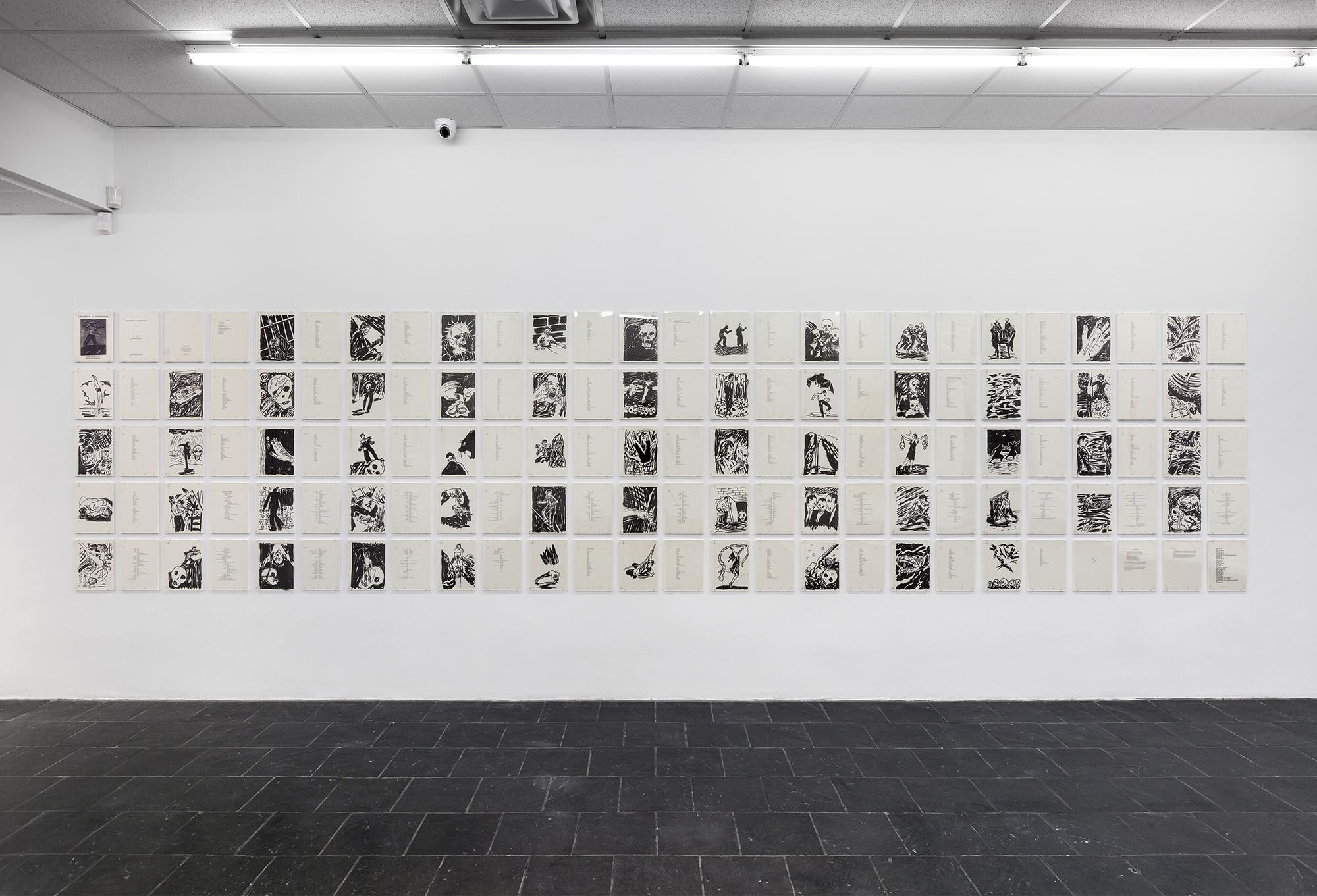 Installation view of Richard Bosman's Grasping at Emptiness (1985) © Richard Bosman, Photo Credit: Daniel Pérez