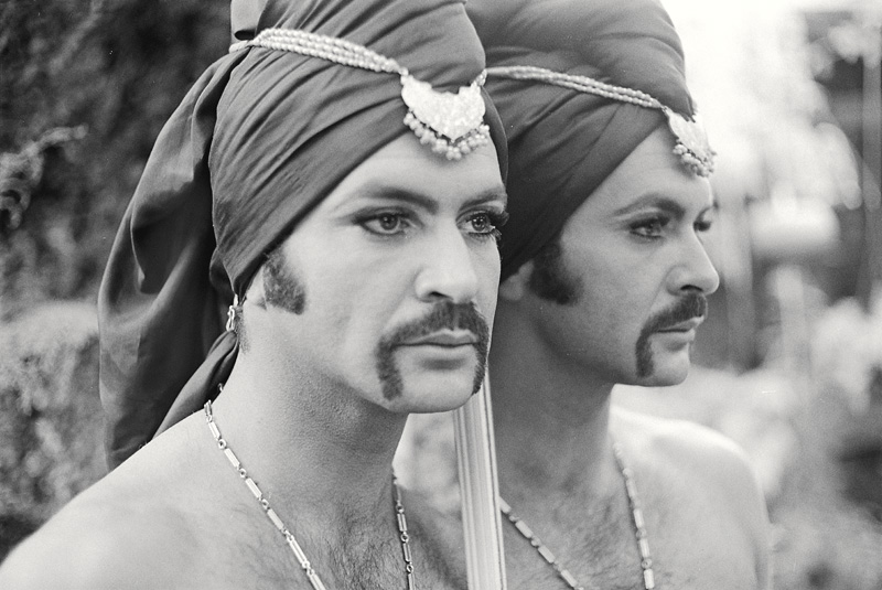 Tosh Carrillo, Arthur , c. 1970s. Archival pigment print from black-and-white 35mm negative, 9 x 14 in. (22.9 x 35.6 cm). Charles Boultenhouse and Tyler Parker Papers. Manuscripts and Archives Division. The New York Public Library, Astor, Lenox and Tilden Foundations