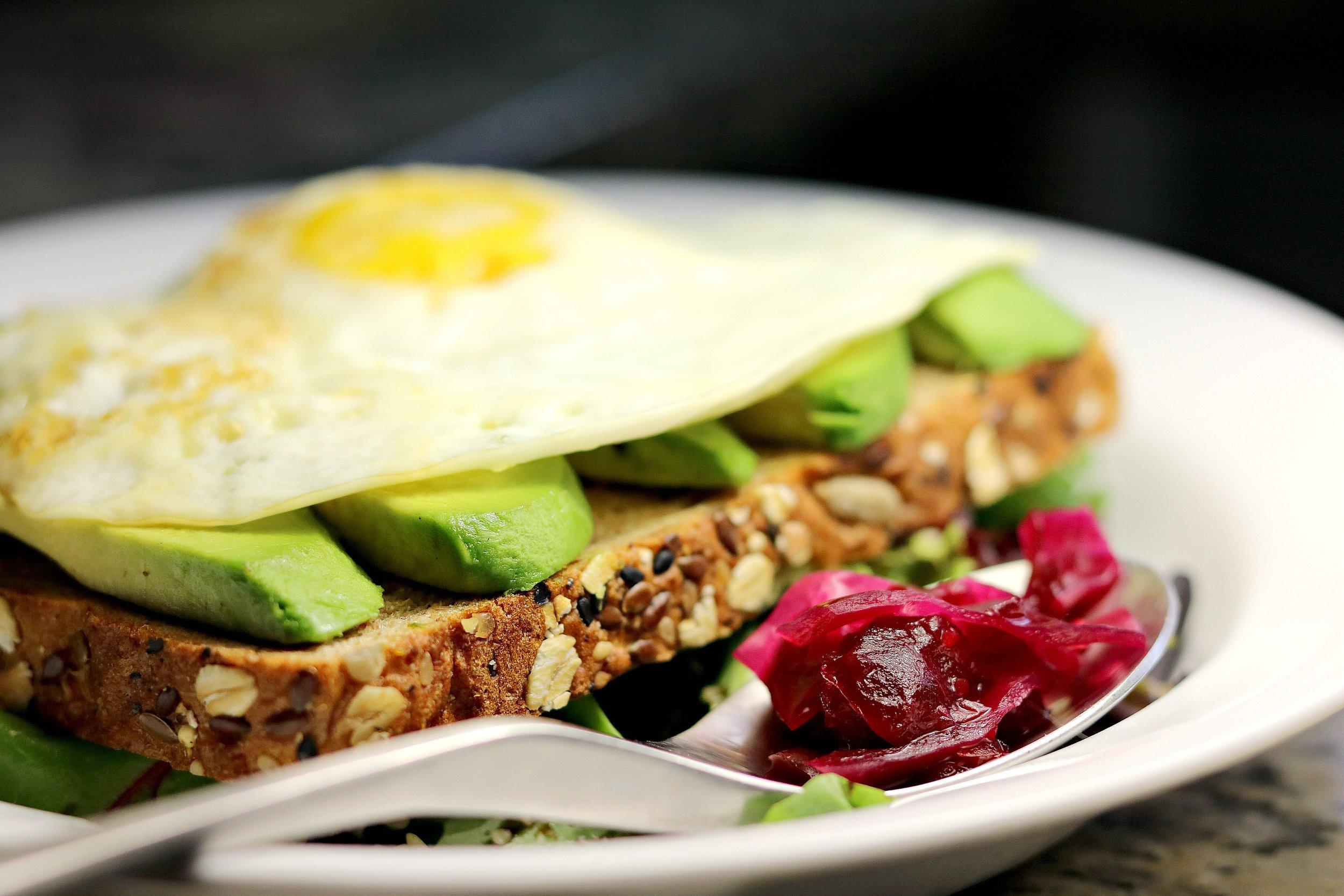 Probiotic Egg Sandwich
