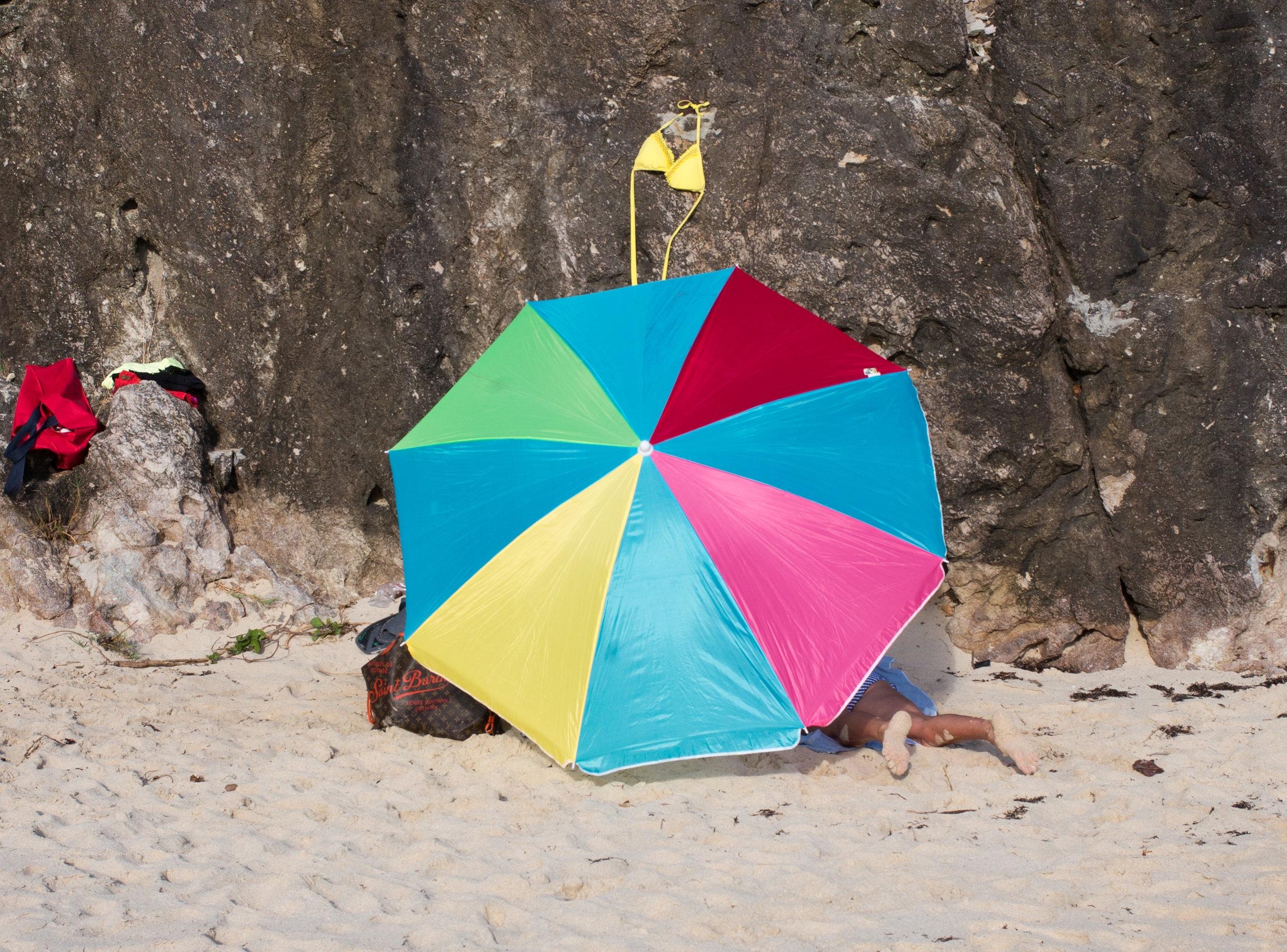 Fun at Gouverneur Beach / S'amusant à Gouverneur - Feb / fév 2015