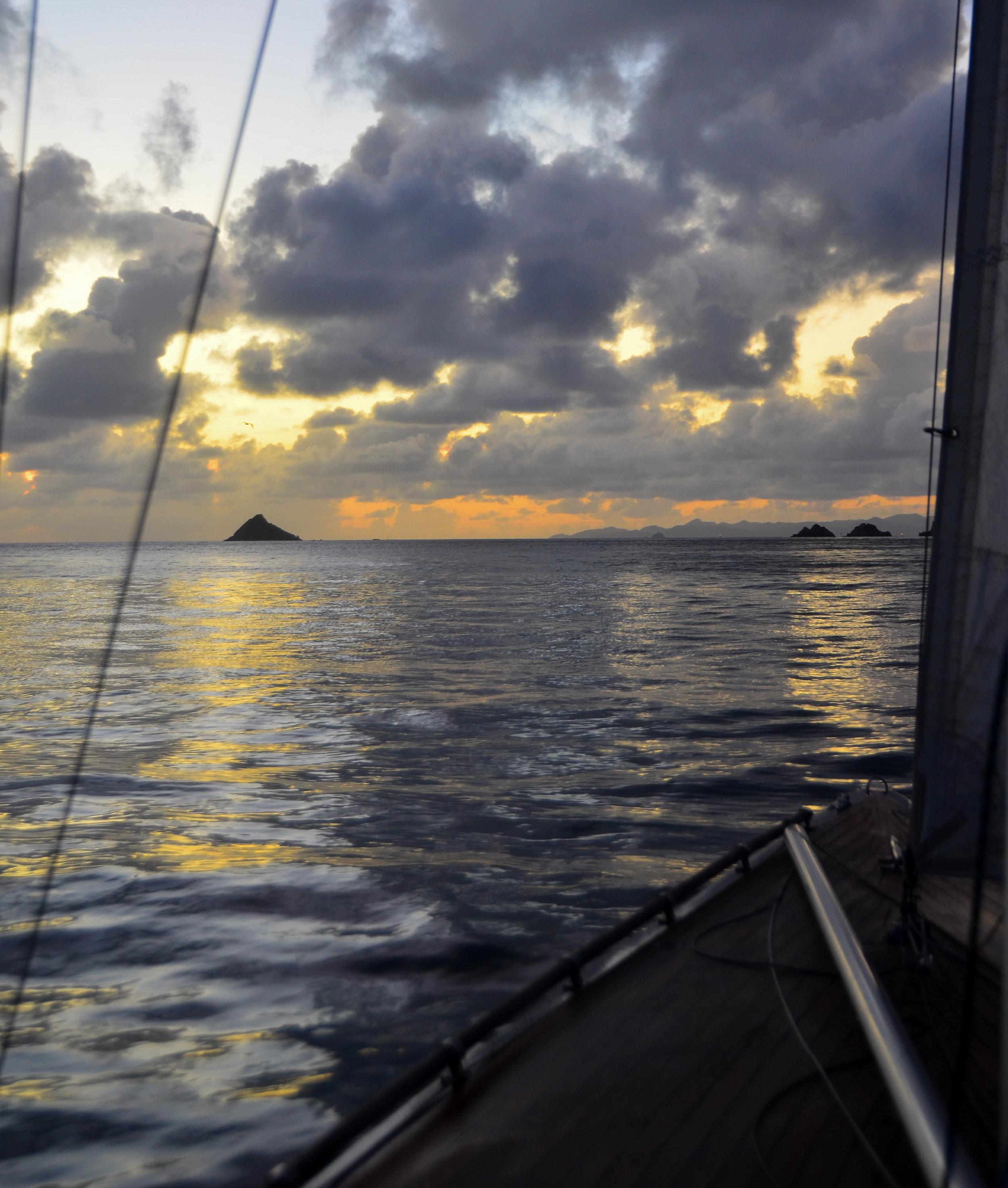 Sunset Sail - Gustavia | Aug 2010