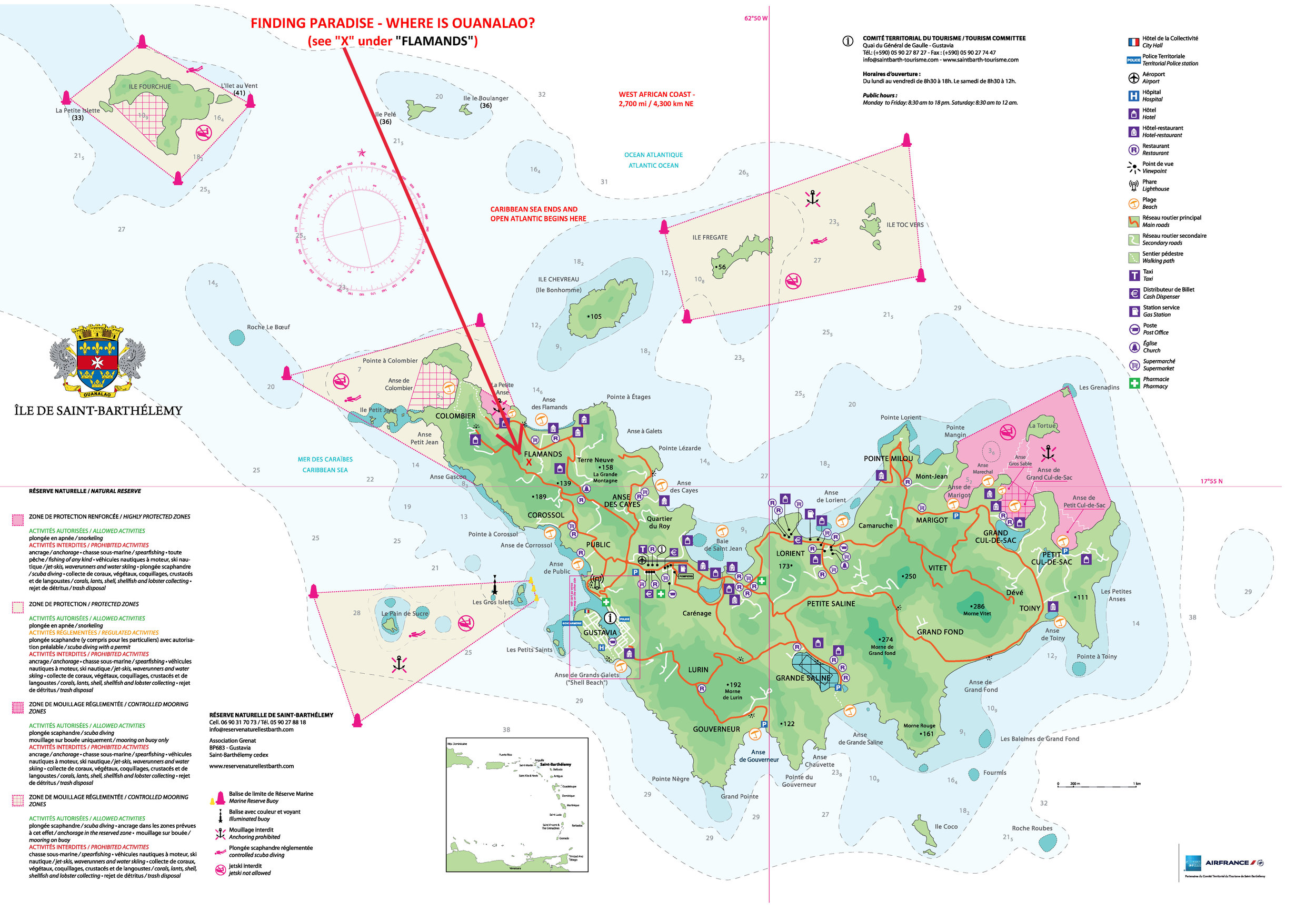 Map - Finding Paradise - Where is Ouanalao?