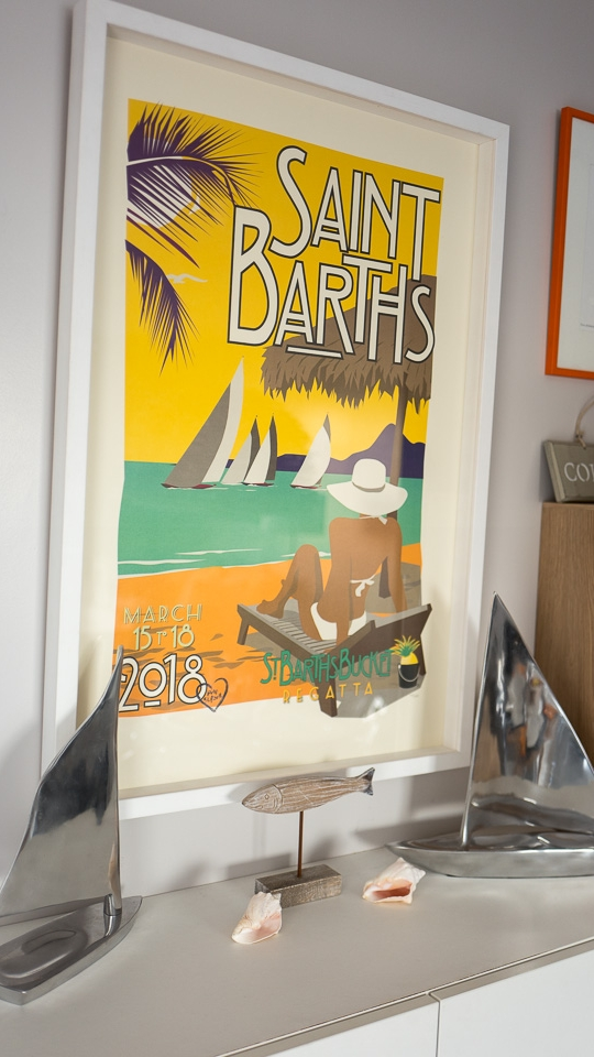 Nautical Themes - 2018 St Barth Bucket Regatta Benefit Poster