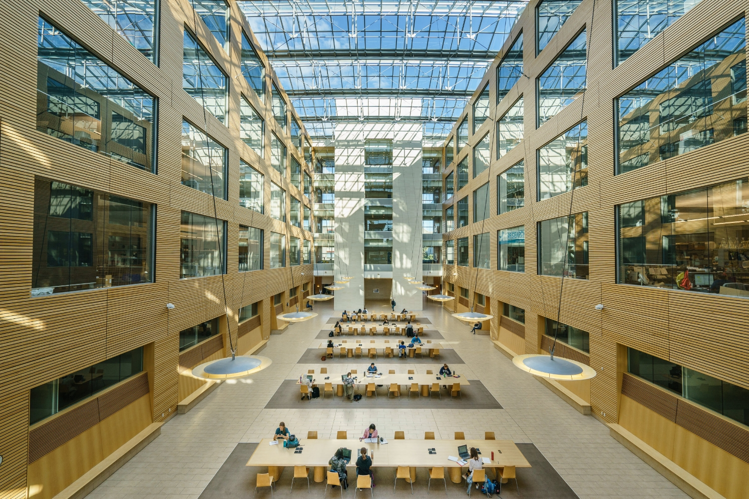 Life Sciences Institute East Atrium