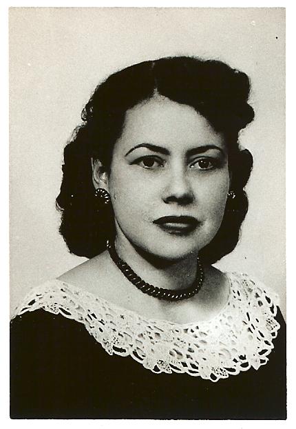 Mina, my mother.
