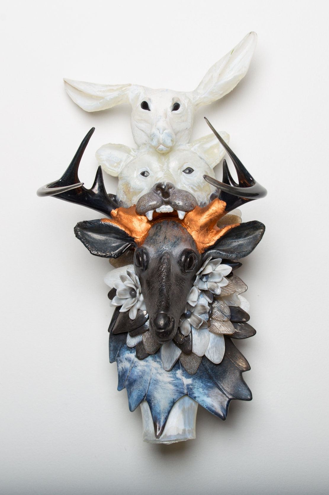 Grant and Erin Garmezy hot sculpted glass 2017