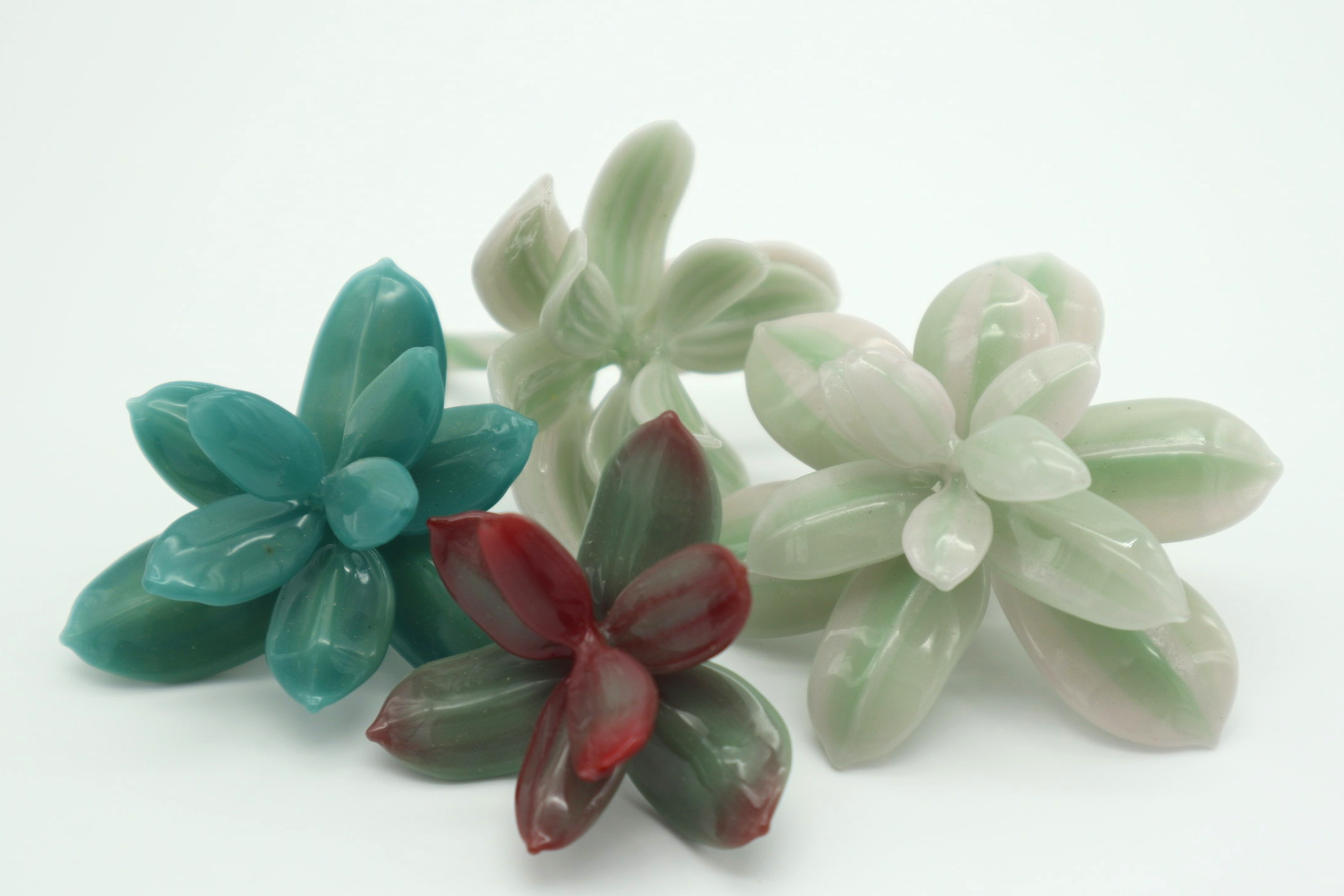 Glass Succulents
