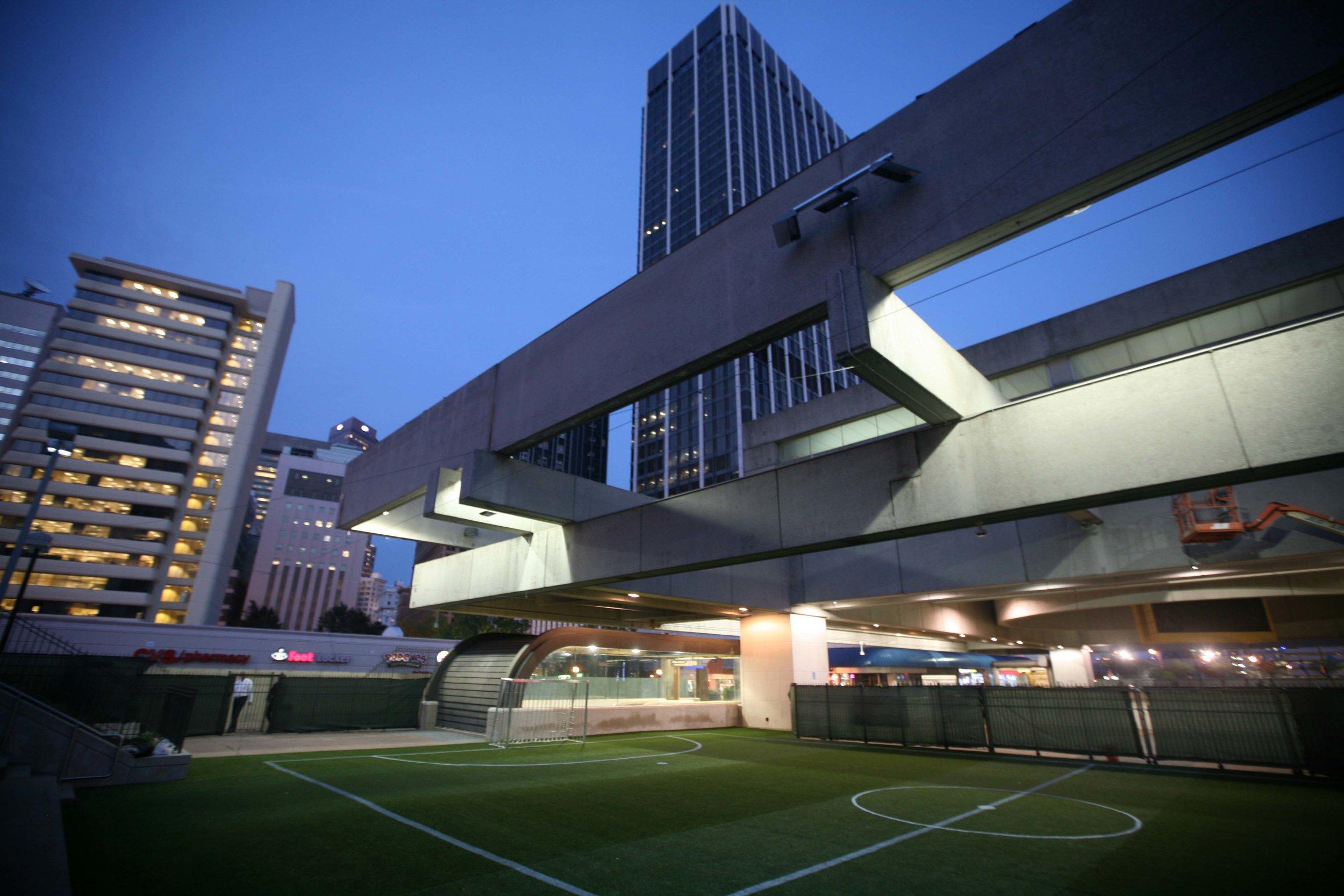 'Station Soccer' - Five Points MARTA Station