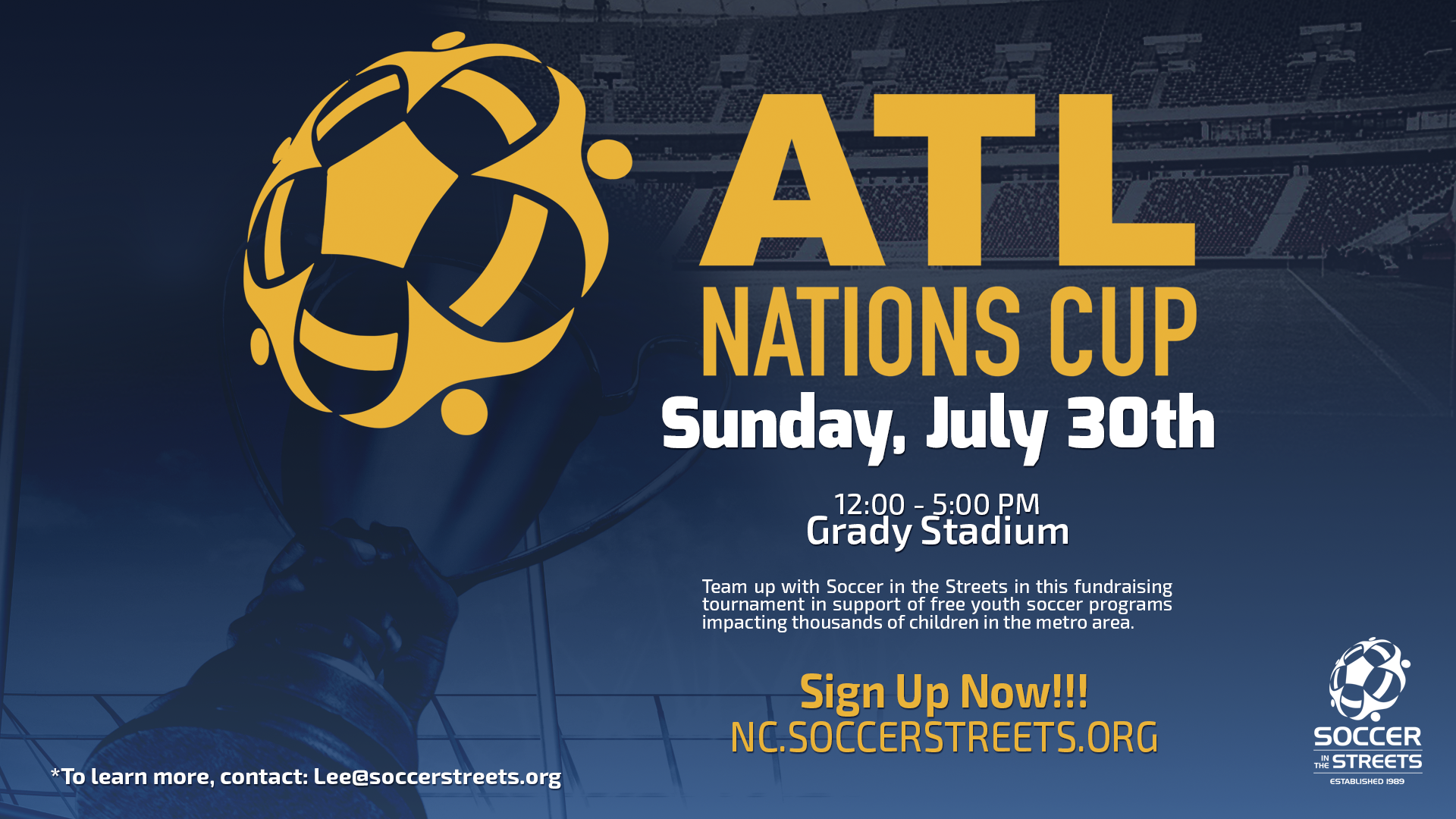 The Fundraiser tournament benefits thousands of underserved children in metro Atlanta