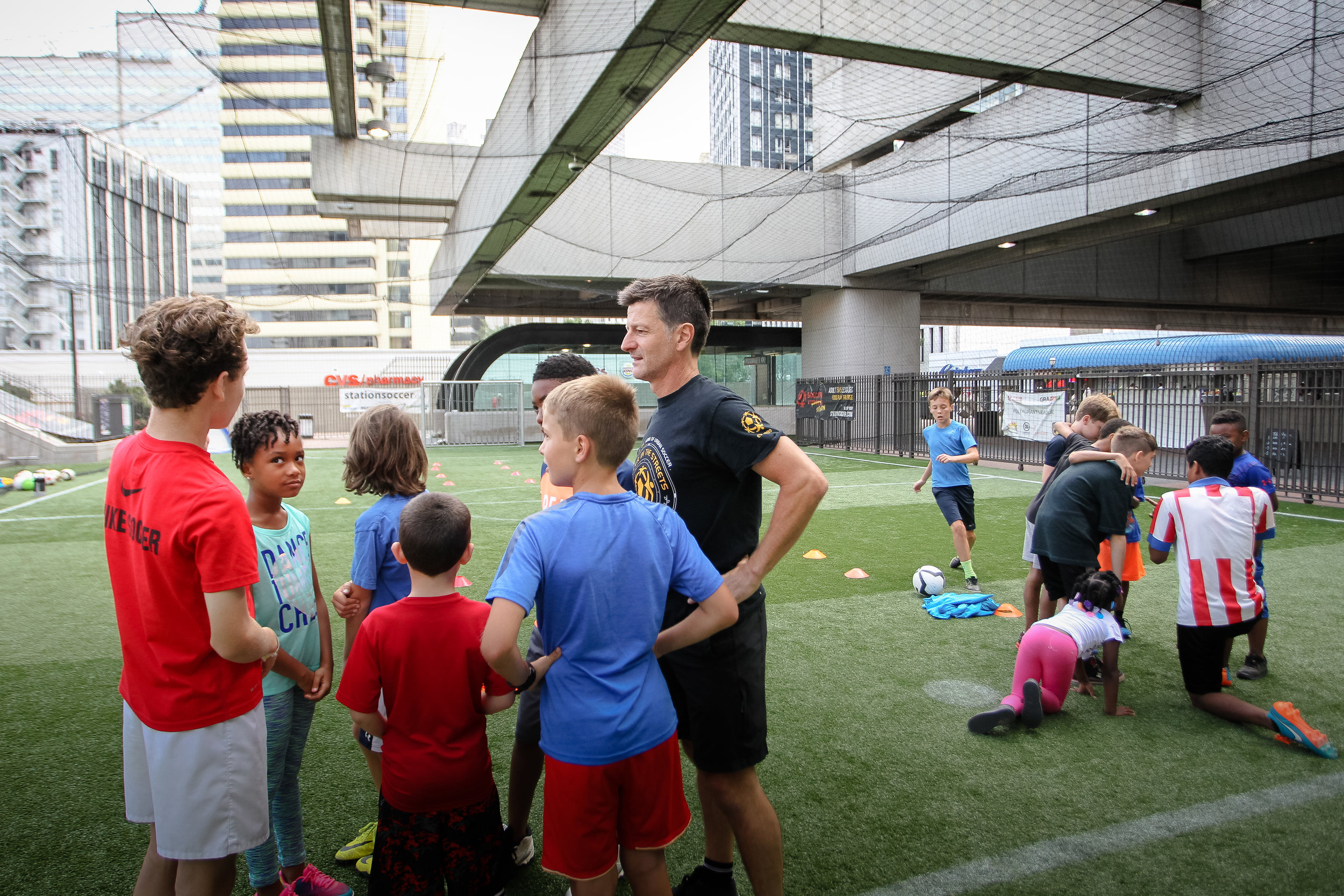 The Grant is Set to Fund Innovative and Non-Traditional Soccer Programming at Station Soccer