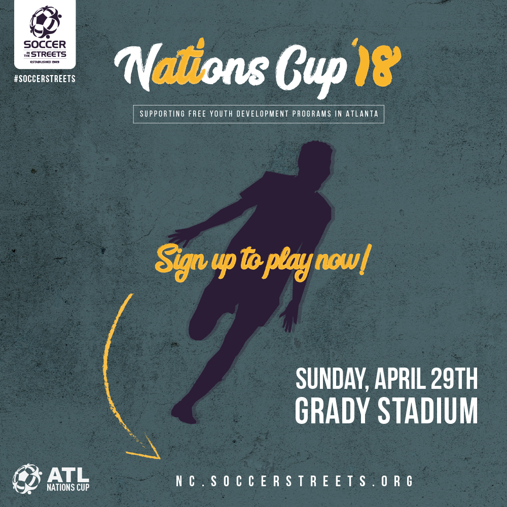 The charity soccer tournament benefits thousands of children in metro Atlanta
