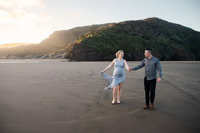 A fantastic time of year to get out to the West Coast. Massive appreciation to Jenna & Sam for getting out there and having a blast!  #bethellsbeach #westauckland #aucklandphotography #pregnant #maternityphotography #babybump #sunset #getout #lovestory #babymag #ohbabymagazine #pregnancy #mamalife