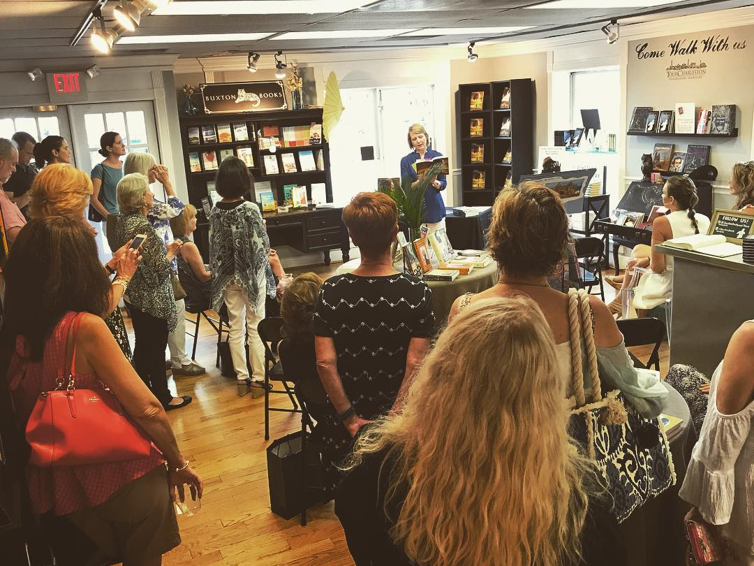 In store event with author Lindy Carter