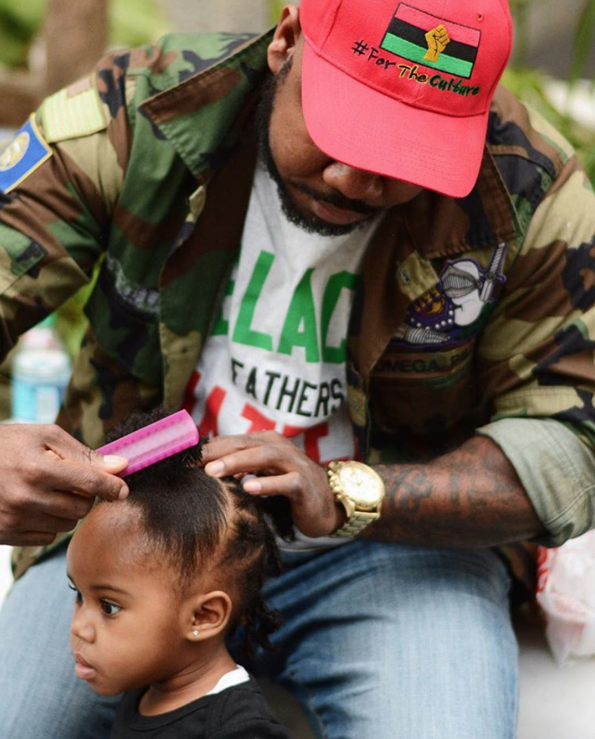 The greatest lesson that fatherhood has taught me is patience.Patience is key to all of life's riddles. Fatherhood has taught me how to go outside myself & how to genuinely love someone other than myself. @guccique2x -
