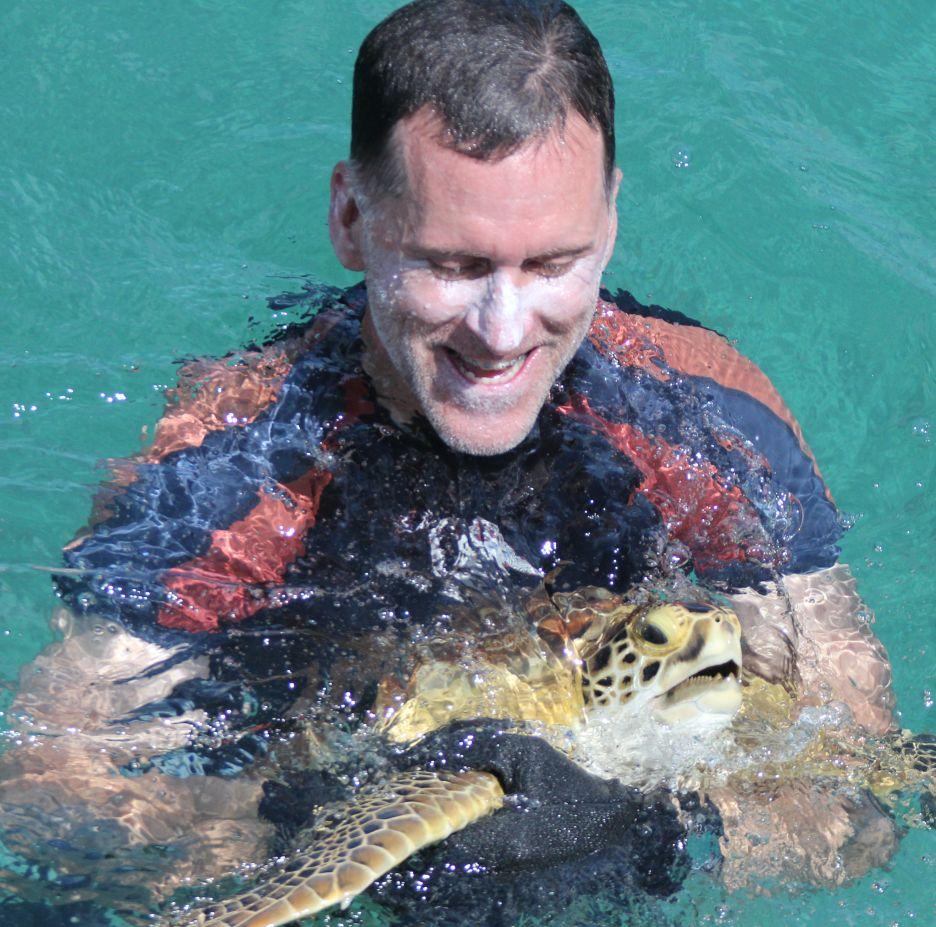 <b>RICK HERREN</b><br>Biologist<br>Sea Turtle Conservancy