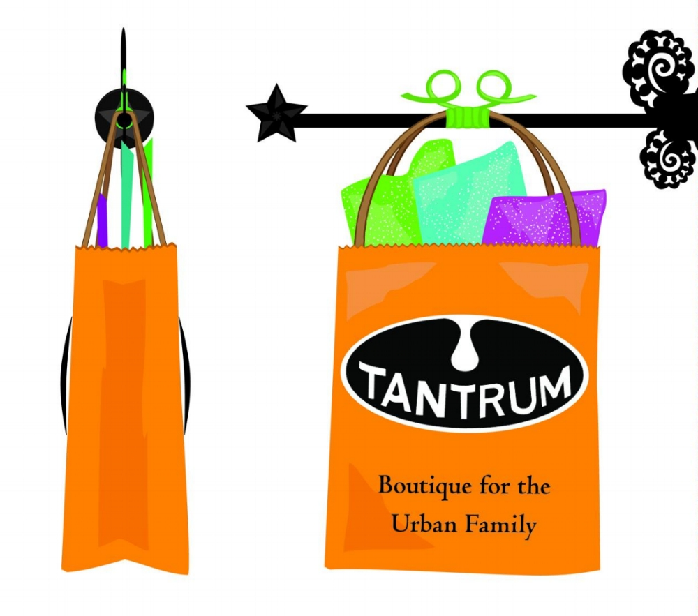 Tantrum Boutique Sign, Northside Co-Sign Contest submission.